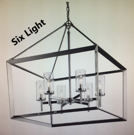 Golden Lighting - 2074-6 - Smyth - Six Light Chandelier