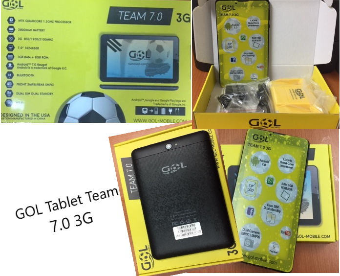 GOL Tablet Team 7.0